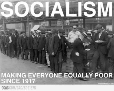 Socialism Making Poor Since 1917