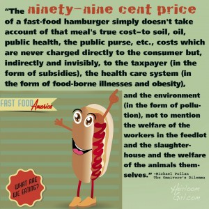 True Cost of Fast Food